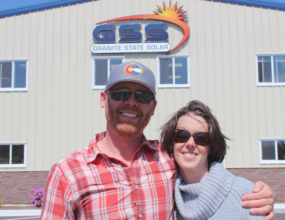 Granite state solar owner and CFO