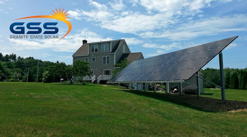 solar panels new hampshire home