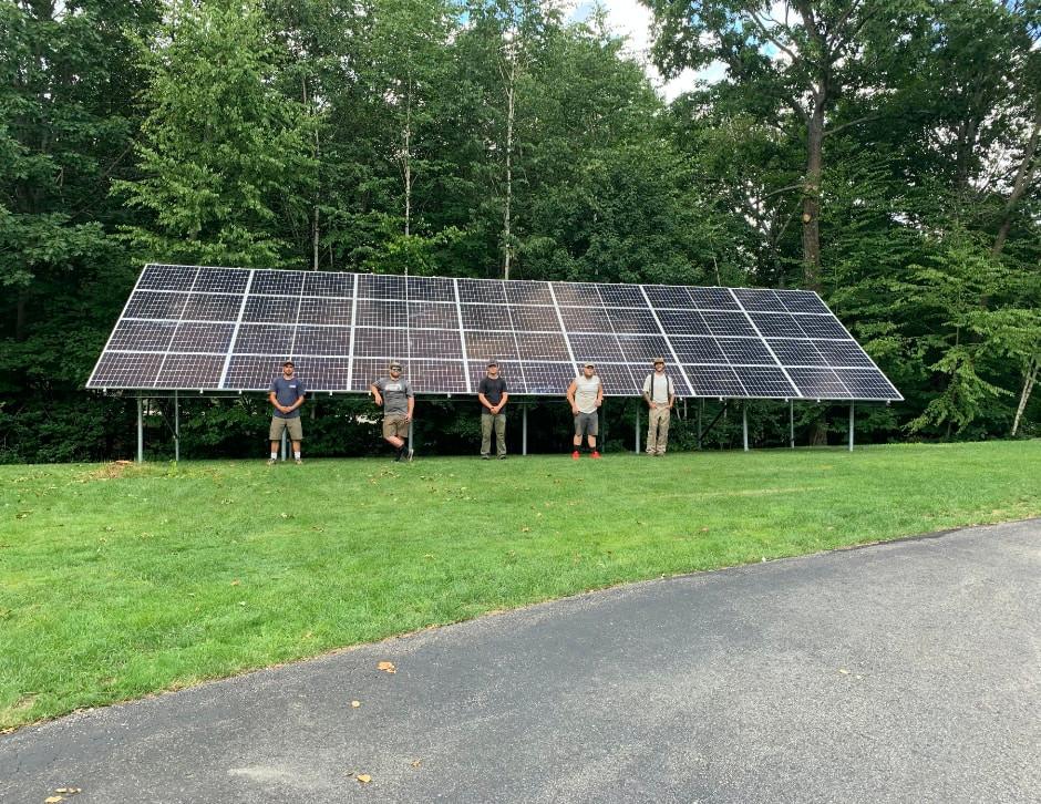 Granite State Solar installers New Hampshire ground mount