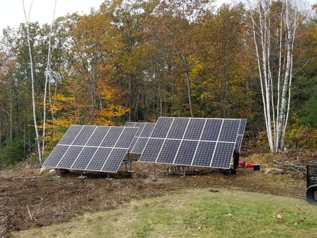Freedom from the Utility Company with Solar Panels