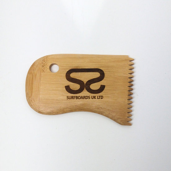 Surfboards UK Ltd eco friendly bamboo wax combe