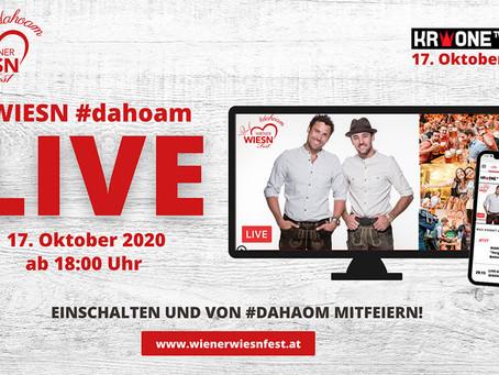 "#dahoam: 10. Wiener WIESN wird zu Europas erster ""digitaler WIESN"""