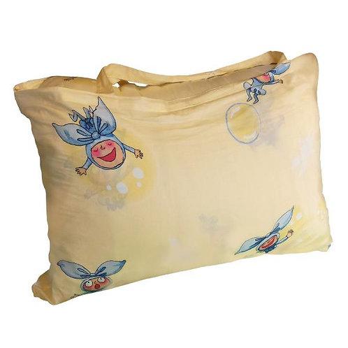 【繪見幾米】歡樂小蝴蝶 兩用睡袋 內附被胎 三色 4.5*5尺
