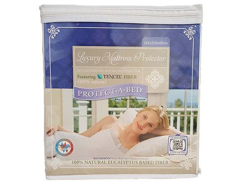 寢之堡 西班牙進口天絲 床包式保潔墊