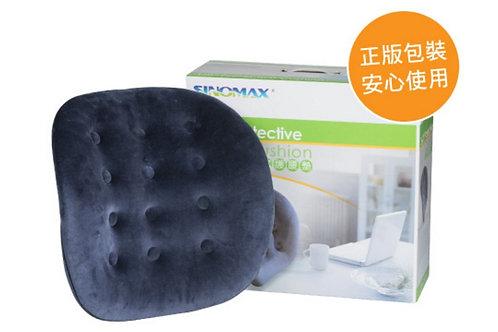 【SINOMAX賽諾】釋壓全效護脊腰墊 特厚太空棉 變調節合適承托 家用 辦公室聖品