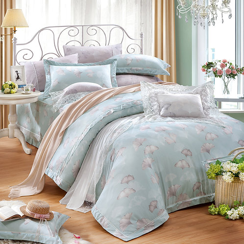 銀杏並木七件式床罩組