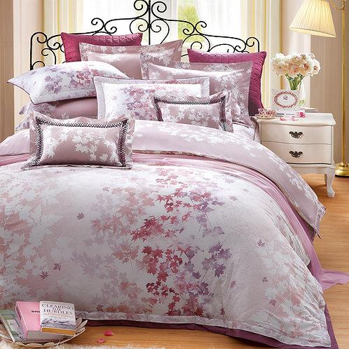 楓糖滋味(紅)七件式床罩組