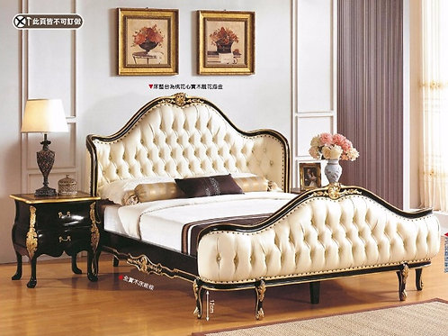 帝國6尺法式雙人床