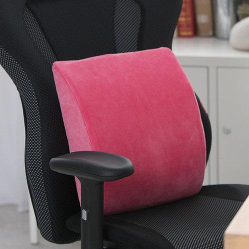 【SINOMAX賽諾】柔軟椅腰墊 慢回彈太空棉 人體工學設計 體貼脊骨 家用 辦公室聖品