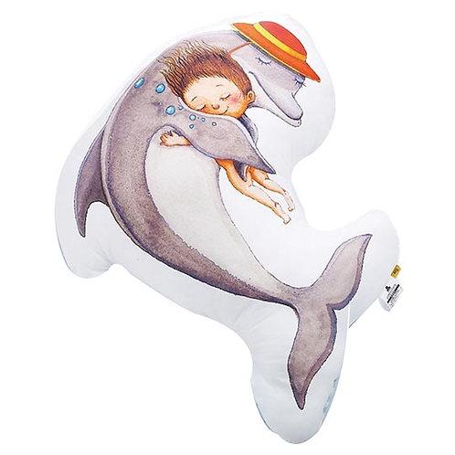 【繪見幾米】獨家限定 擁抱擁抱 擁抱海豚造型抱枕