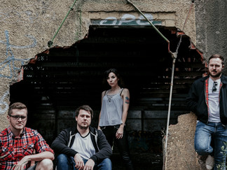 Noughts and Crosses Band Photoshoot