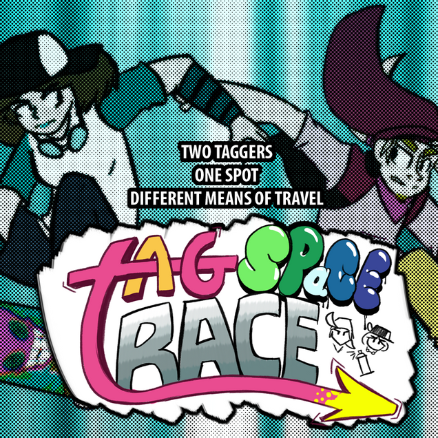 Tag Space Race