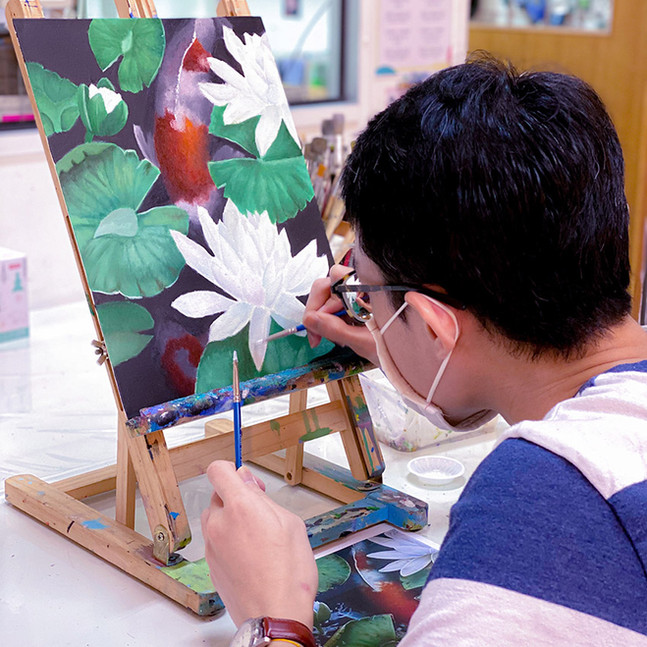 Best Oil Painting Classes in Singapore f