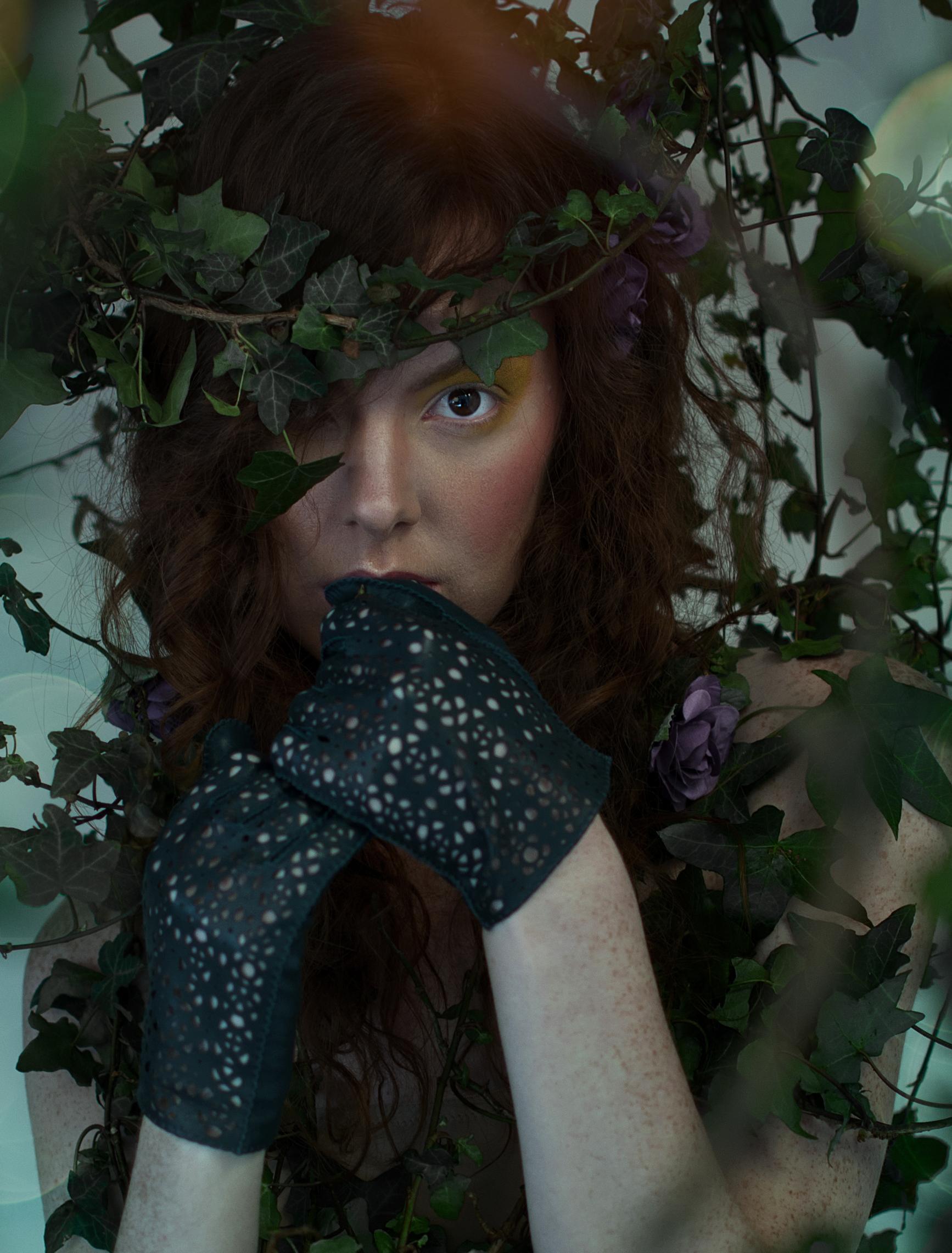 Heather gloves