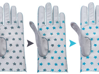 Colour changing gloves by Riina O x Kristi Kuusk