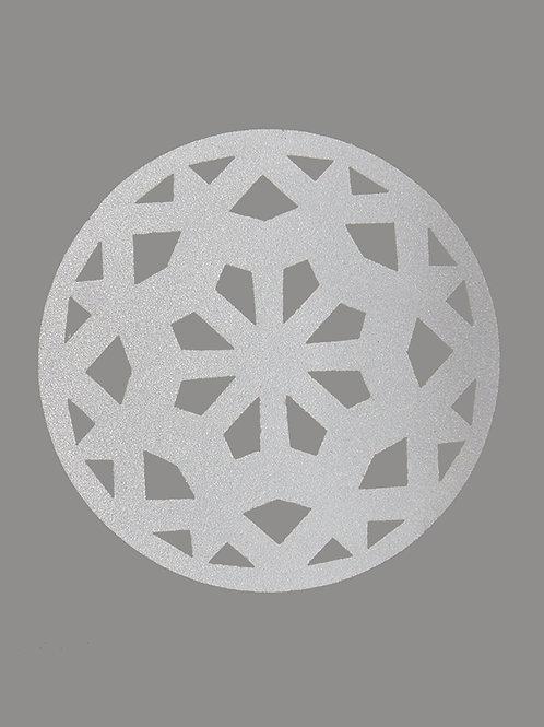 Large Ring retroreflective sticker