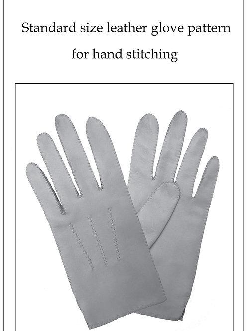 Standard size glove pattern
