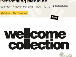 Riina O will be at Wellcome Collection this Saturday, 17th Nov!