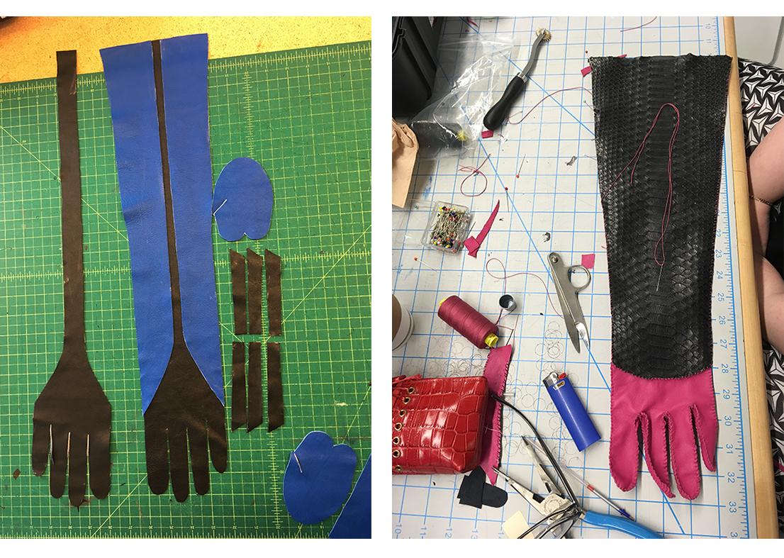 Advanced glove making