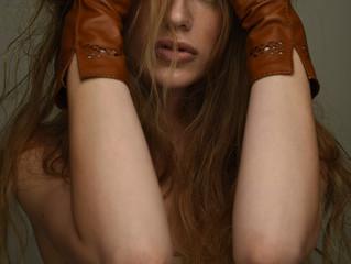 """Riina O """"Winter in Desert"""" campaign editorial"""