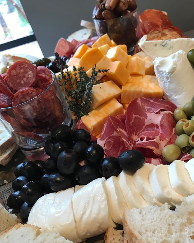 Charcuterie Boards add color and flavor