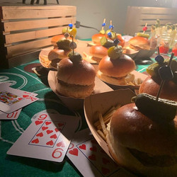 Sliders, Stuffed Mushroom Shots, 4,5,6 E
