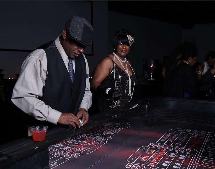 Casino Themed 50th
