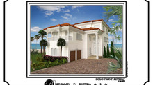 Custom Oceanfront Elegance on a 50 Foot Lot