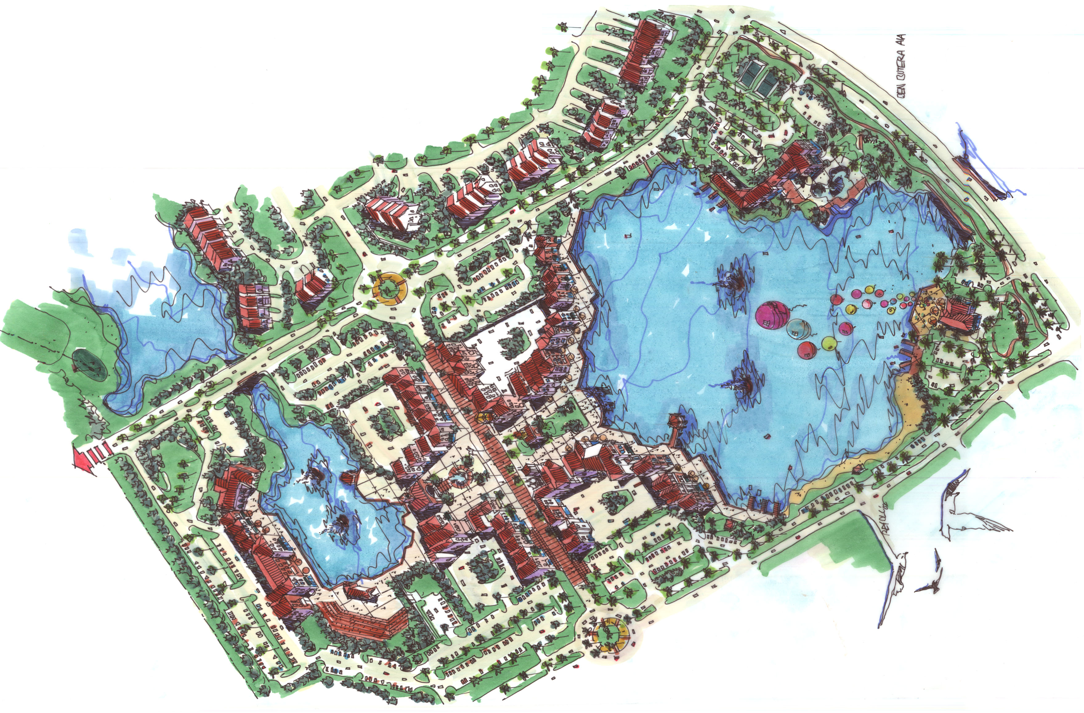 Venetian Bay Site Plan