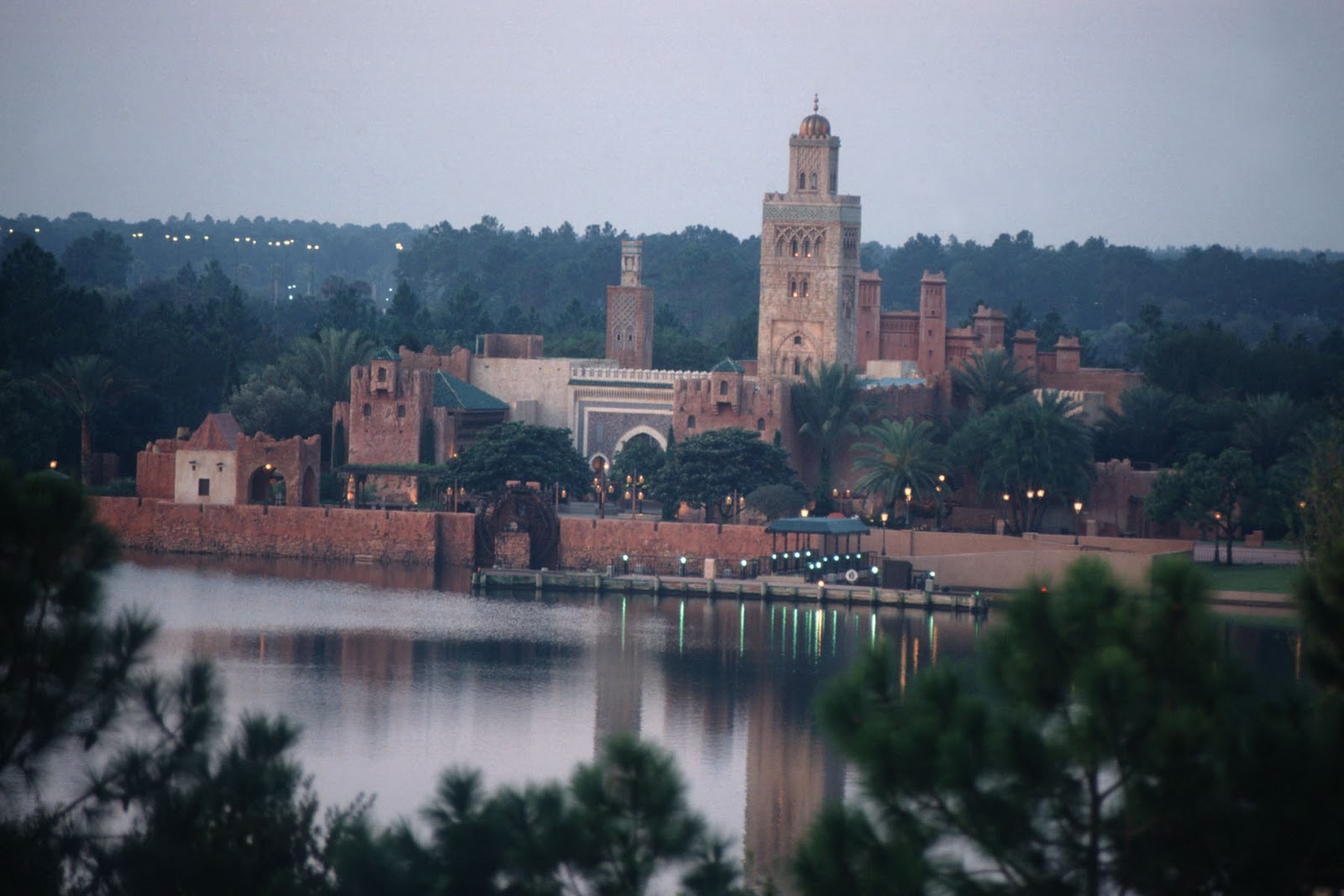 EPCOT Center: Morocco Cafe