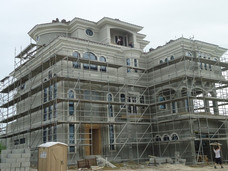 A visit to our custom home project in Hammock Dunes