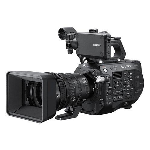 Videocámara FS7 con lente 18-110mm