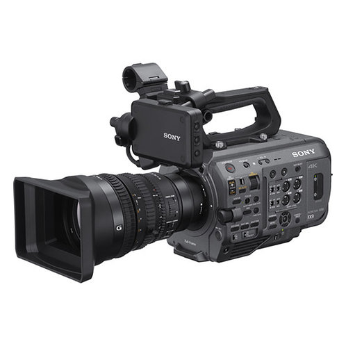 Videocámara FX9 con lente 28-135mm