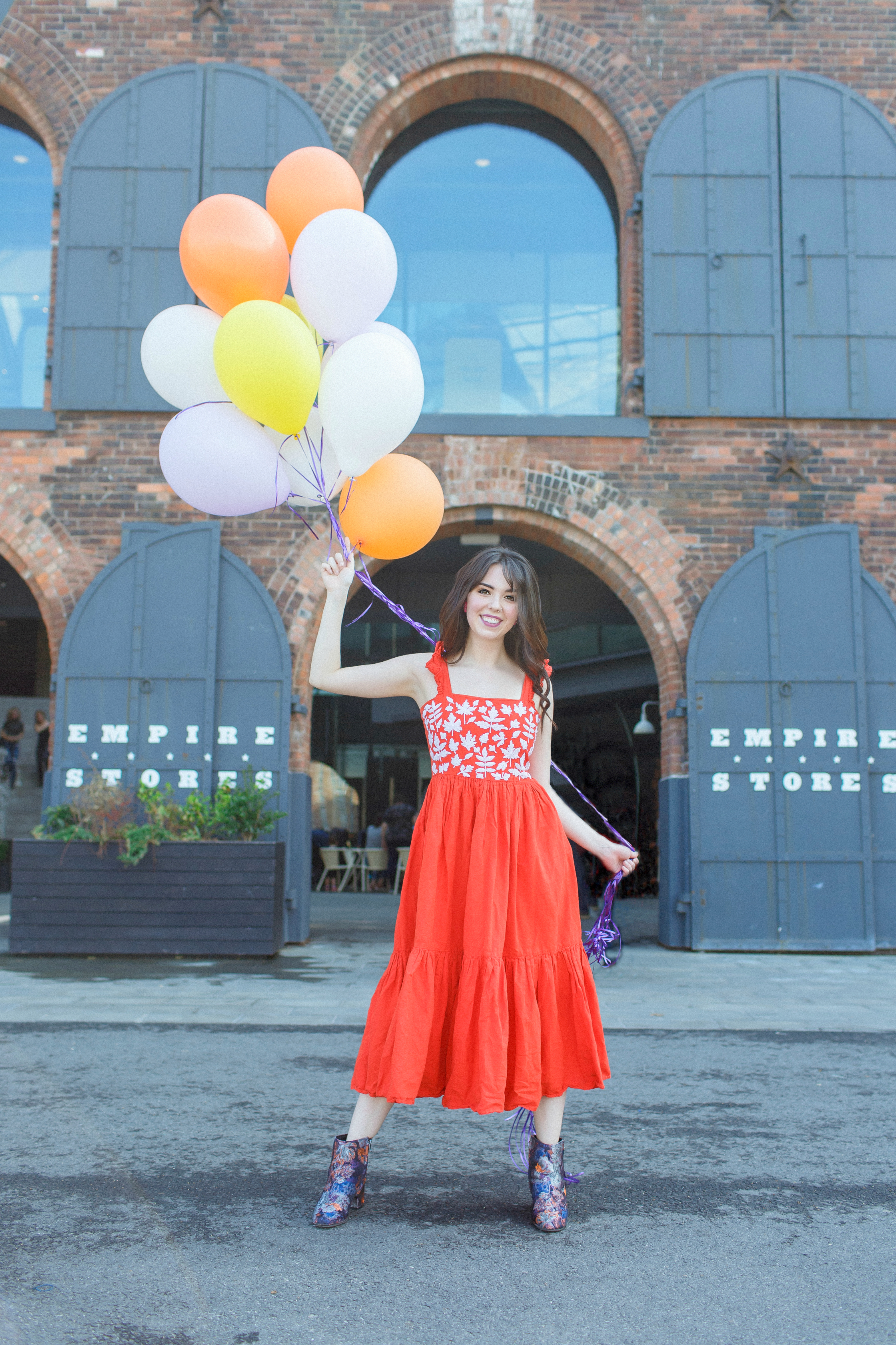 Lindsay likes Balloons