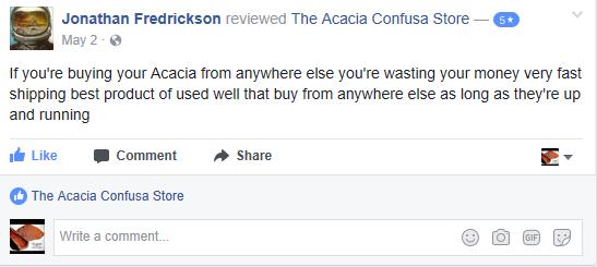 the acacia store reviews