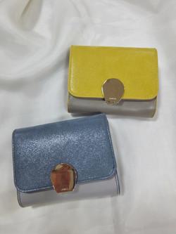 配色2折財布