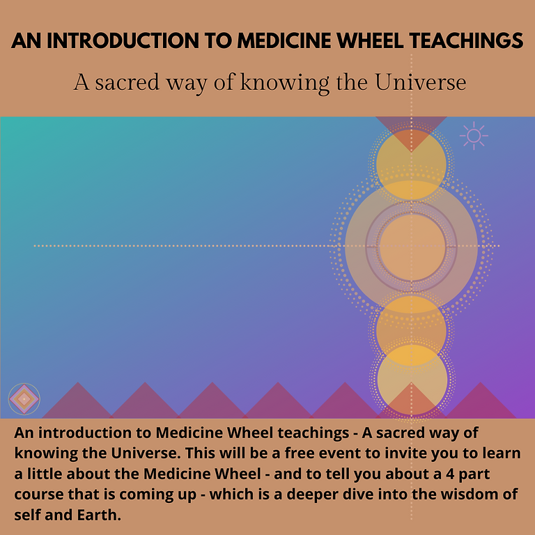 An Introduction to Medicine Wheel Teachings (pre-recording)watch anytime