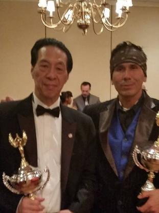Sifu Samuel Kwok & Sifu Snake Blocker - Kung Fu Expo Master Awards