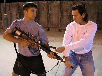 Snake Blocker teaching Military Close Quarters Combat (MCQC) - Iraq Tour