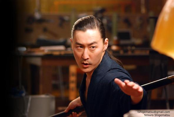 Tetsuro Sigematsu, Samurai lineage, Actor