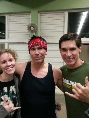 Melissa & Snake Blocker with Burton Richardson