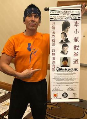 Snake Blocker - Progressive Fighting System - Contemporary Jeet Kune Do - Clinch/Ground Fighting Range Instructor