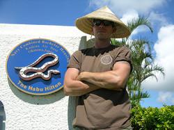 Snake Blocker, US Navy, Okinawa