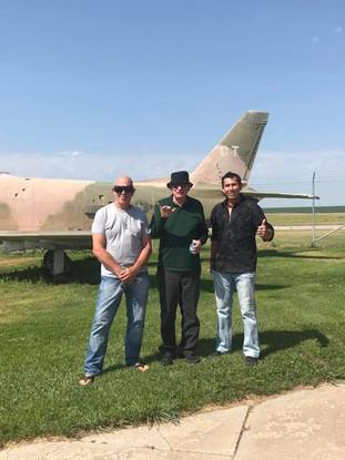 Sensai Woody, Sifu Tim Tackett and Sifu Snake Blocker, McCook, Nebraska