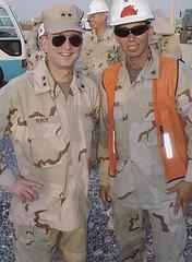 Admiral & Petty Officer Snake Blocker - Kuwait Tour 2004