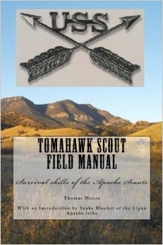 """Thomas """"Tomahawk"""" Moore, Author, Actor, Survivalist.  Snake Blocker wrote the Introduction."""