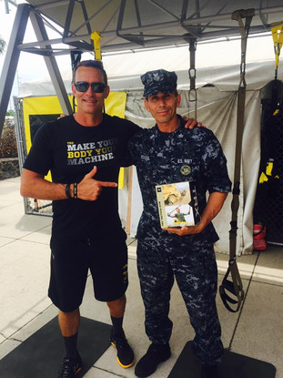 Randy Hetrick, Navy SEAL, Founder of TRX. Inventing the TRX Suspension Trainer & Petty Officer 1st Class Snake Blocker