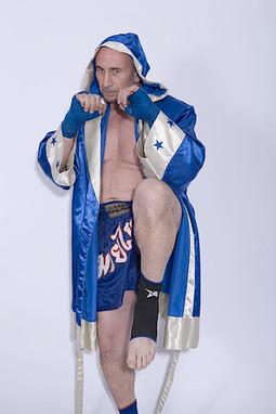 Freidun 'Iceman' Younossi, Multi-World Champion Kickboxer.