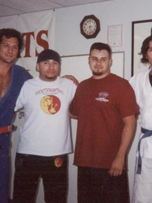 Rodrigo Medeiros, Former Brazilian Jiu-Jitsu World Champion, Jeet Kune Do Instructors: Mike Omerbegovich, Eric Bentzen, and Snake Blocker