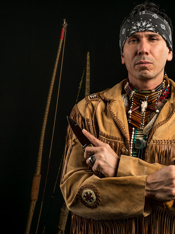 Snake Blocker, Lipan Apache Tribe of Texas